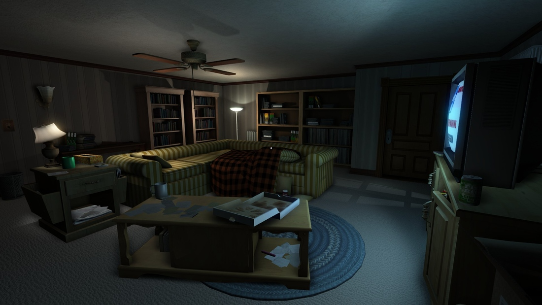 A_story_exploration_video_game