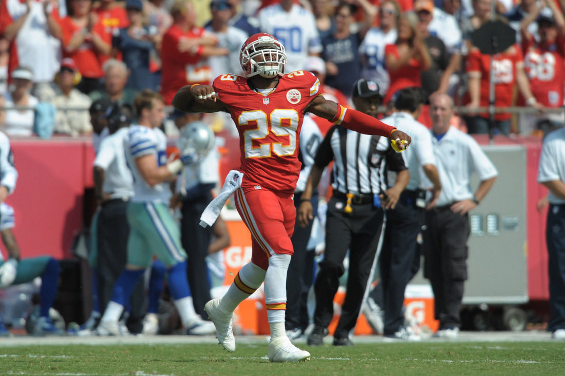 If KC Chiefs Eric Berry could pick off any QB it would be Eagles