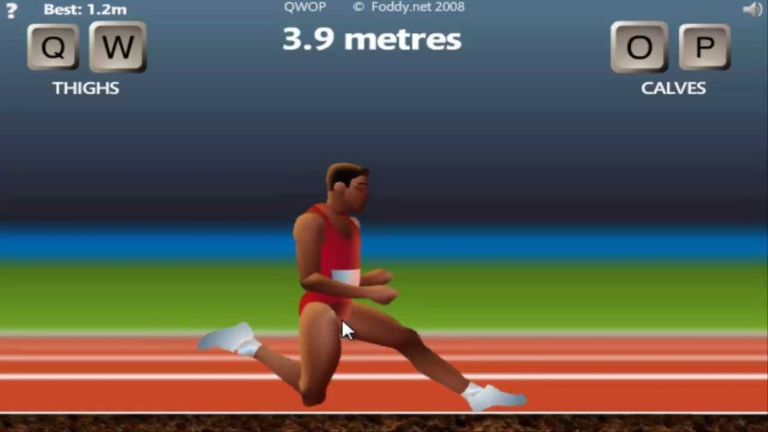 The appropriately strange journey of qwops creator from philosopher qwop ccuart Images