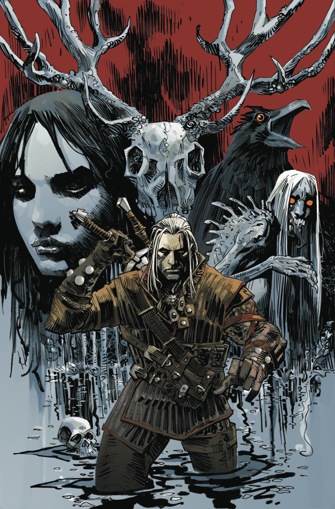 The_witcher_dark_horse_cover