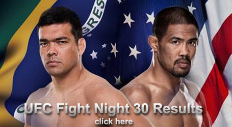 UFC Fight Night 30 Results