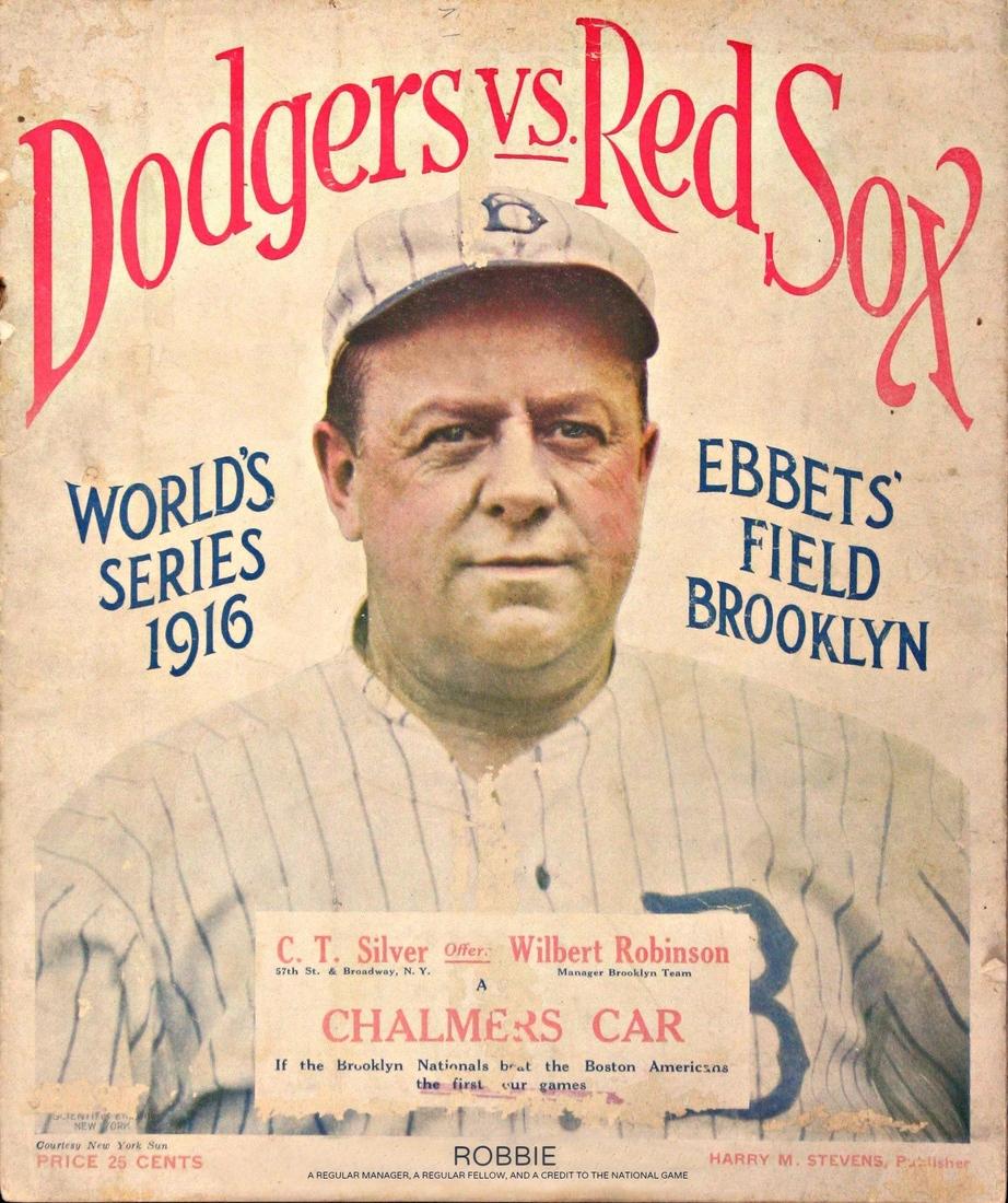 Baseball journal - Magazine cover