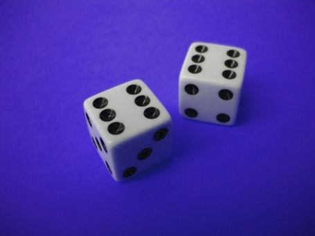 Double-six-dice