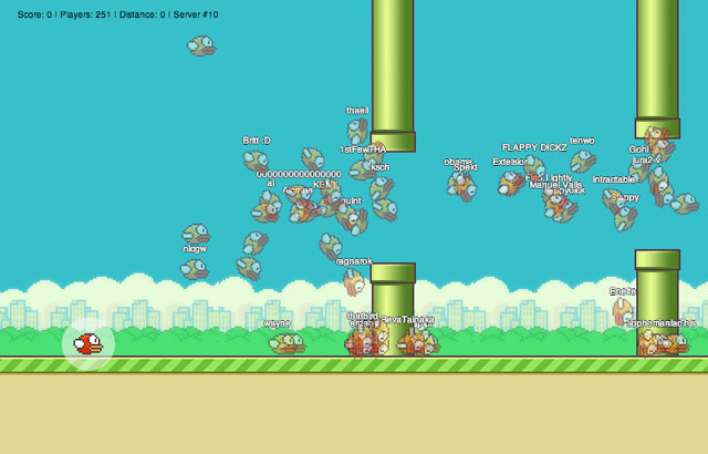 Flappy-mmo