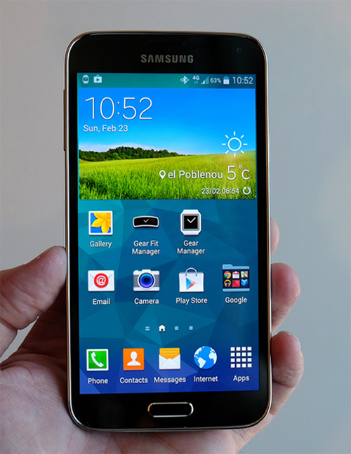 Samsung's Galaxy S5 is here with more power, more pixels, and a ...