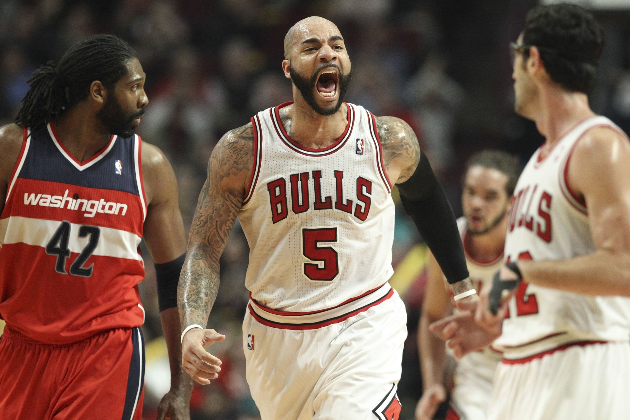 Carlos Boozer is too subdued these days SBNation