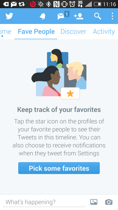 Class Twitter-timeline Favepeople