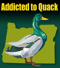 Addicted To Quack - For OREGON DUCKS Fans