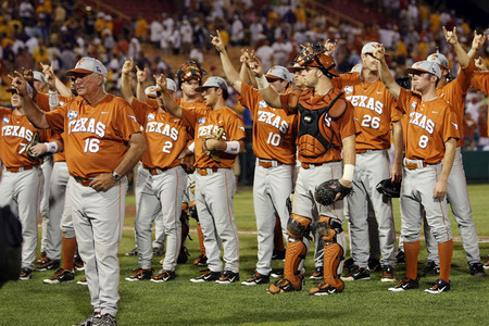 88651177 large Photo: Texas Longhorns NCAA Baseball Super Regionals