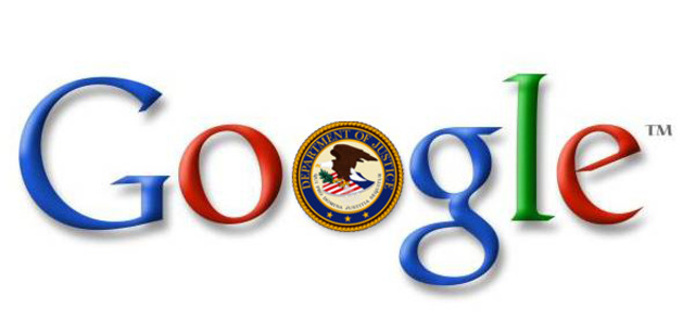 Google Department of Justice