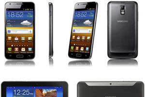 Samsung Galaxy S II and Galaxy Tab 8.9 with LTE