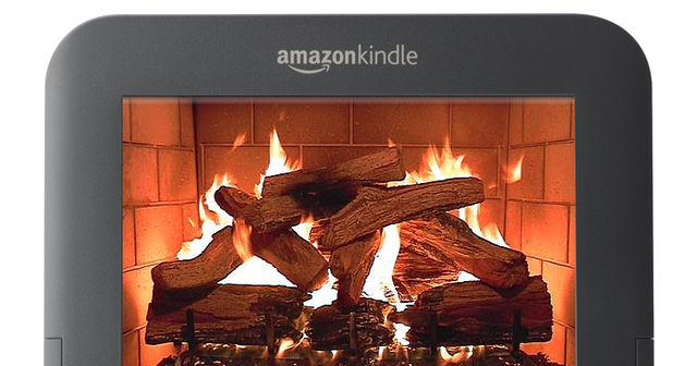 Amazon Kindle Fire mockup