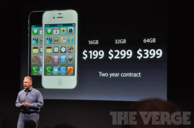 "Apple iPhone 4S at ""Let's Talk iPhone"" event"