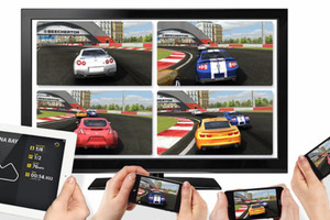 iOS 5 Split Screen TV gaming with Airplay
