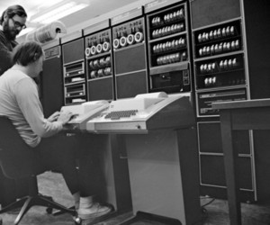 Dennis Ritchie and Ken Thompson