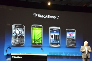 Blackberry OS 7 devices