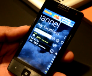 Windows Phone Mango apps: Weather Channel and History Channel