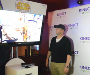 Kinect Star Wars hands-on at E3 2011