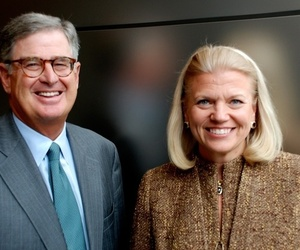 IBM Palmisano and Rometty