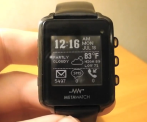 MetaWatch prototype review