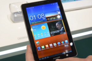 Samsung Galaxy Tab 7.7 hands-on
