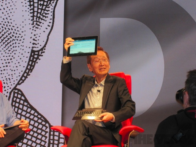 Asus Transformer Prime at AsiaD