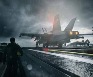 Battlefield 3 jet screenshot