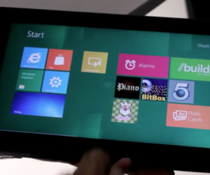 Nvidia Kal-El Windows 8 ARM tablet hands-on