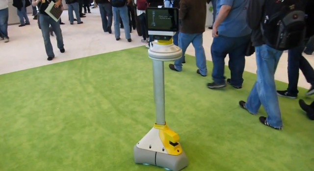 iRobot Ava at Google I/O 2011