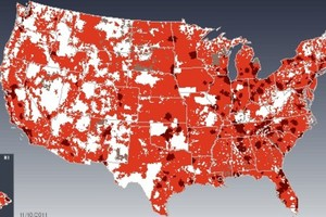 Verizon LTE coverage