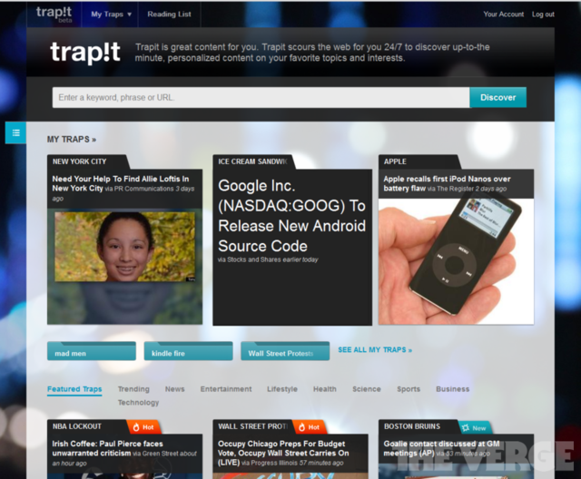 Trapit Screenshot