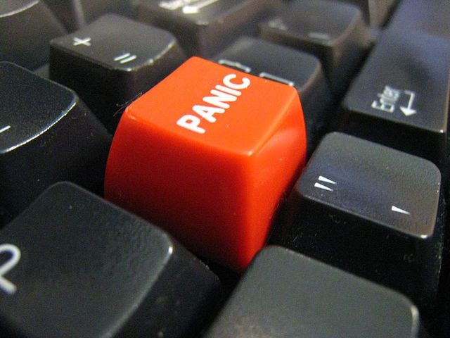 Panic button (flickr attribution)