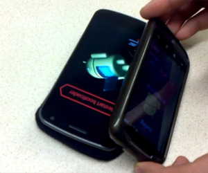 Galaxy Nexus interference demo