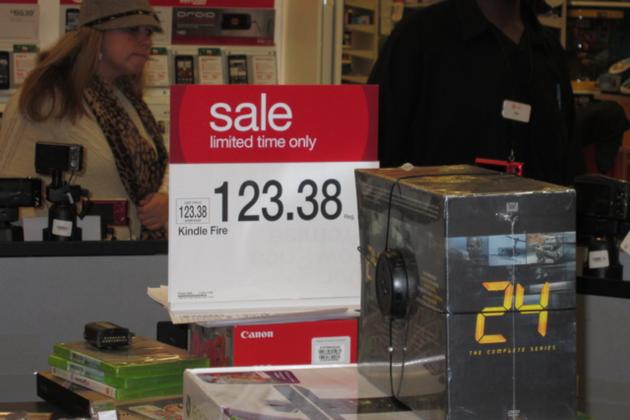 Kindle Fire Target Sale