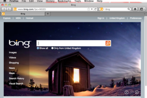 Firefox with Bing