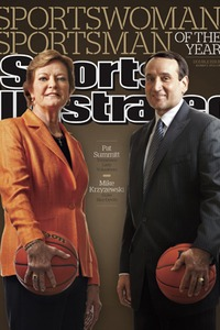 Pat Summitt and Mike Krzyzewski, SI's 2011 Sportsman and Sportswoman of the Year