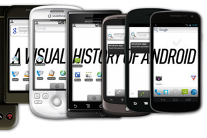 A Visual History of Android