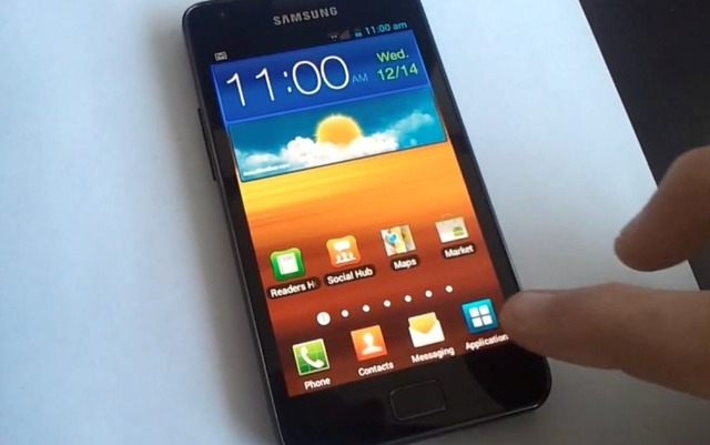 TouchWiz on ICS