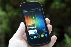 nexus s ice cream sandwich