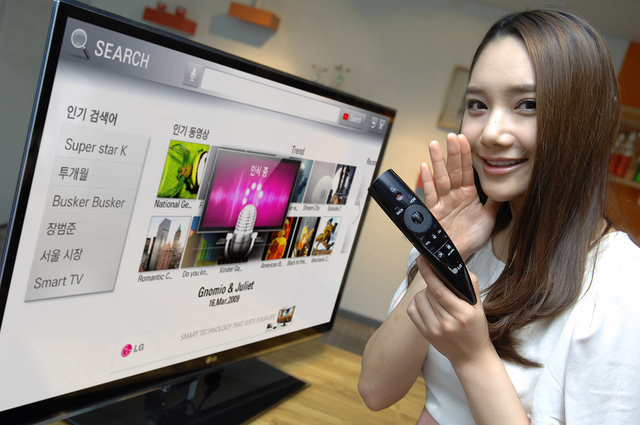 LG Magic Motion Remote Control 2012