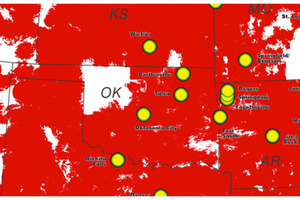 Verizon LTE Coverage in Oklahoma
