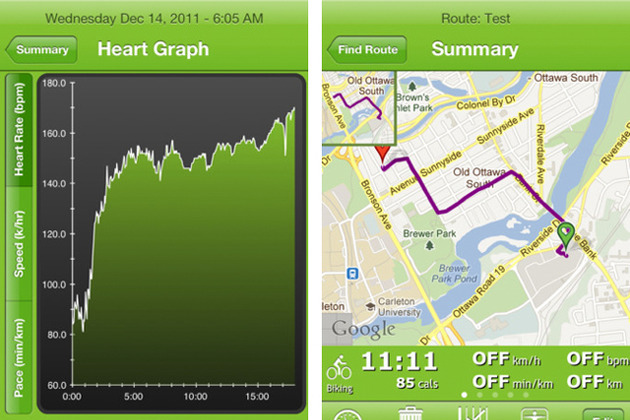CardioMapper for iOS