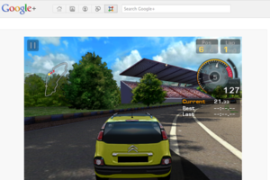 GT Racing Google+