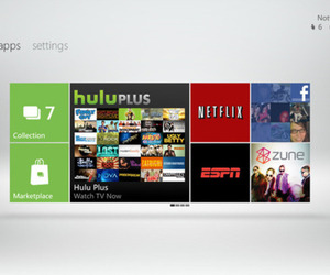 XBL Dashboard with Netflix 2011 (1280 x 720)