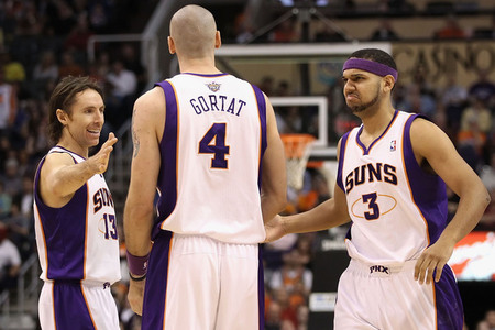 If the Suns make the playoffs, these three guys need to have great seasons.  (Photo by Christian Petersen/Getty Images)
