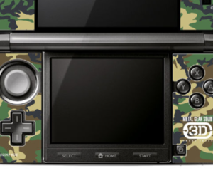Metal Gear Solid Snake Eater 3D accessory kit for Nintendo 3DS
