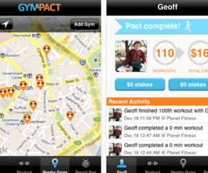 GymPact iOS app