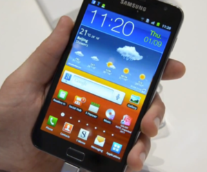 Samsung Galaxy Note hands-on