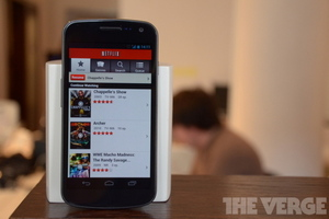 Galaxy Nexus Netflix update