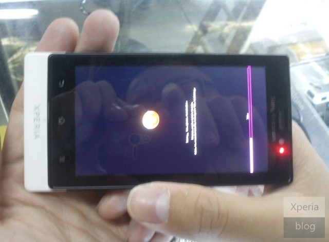 Sony Ericsson Xperia MT27i Pepper leaked photo